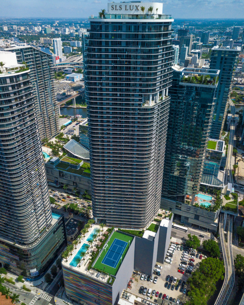 SLS LUX Brickell south side