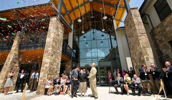 Opening of Morris Hall