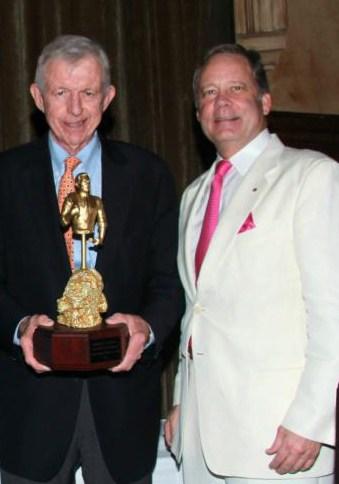 Ambassador Chuck Cobb with Allen Morris