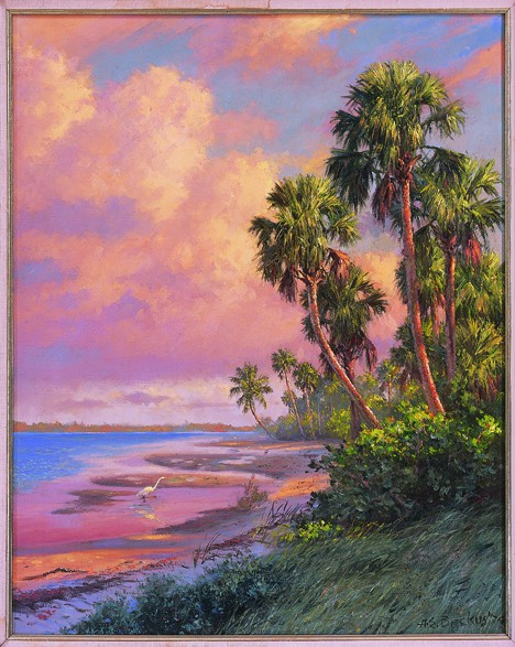 Indian River by A E Backus